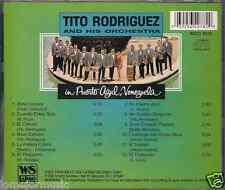 Mega RARE cd SALSA Tito Rodriguez IN PUERTO AZUL VENEZUELA la pollera colora