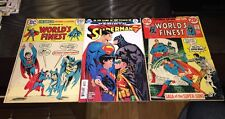 Worlds Finest 215, 221 and Superman Rebirth 10 1st app SUPER SONS!!!