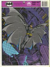 BATMAN RETURN FRAME TRAY PUZZLE - GOLDEN (4127)/DC COMICS 1992 - EXCELLENT CONDN