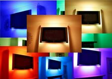 3x61cm SUPER LUCE LED MOOD Lighting idee TV Indietro Luci Cambia Colore TUBI