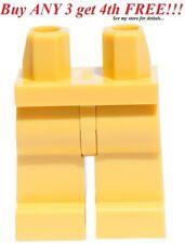☀️NEW Lego Legs Pants MINIFIGURE MINIFIG BOY GIRL Star Wars Plain TAN LEGS