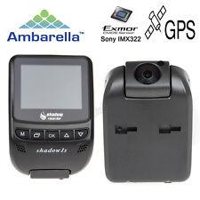 "Shadow 1s Ambarella A7 HD 1080p 2.4"" LCD Dash Camera GPS WDR Smart Light F1"