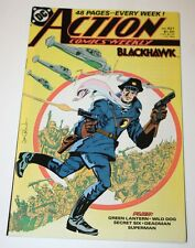 Action Comics Weekly featuring Blackhawk Issue #621 October 1988