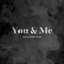 KARD [YOU & ME] 2nd Mini Album CD+76p Photo Book+2p Photo Card K-POP SEALED
