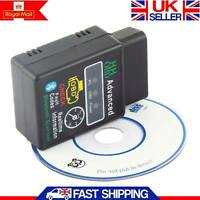 New ELM327 Bluetooth OBD2 Scanner V2.1 Torque Android Car Auto DTCs Scan Tool UK