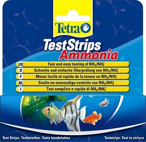 TETRA AQUARIUM/POND/FRESHWATER/SALTWATER TEST KITS-pH,GH,NO2/3,ammonia- FREEP&P