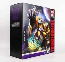 Transformers Platine Édition UNICRON Collection Cadeau Action Figure Jeux Jouet