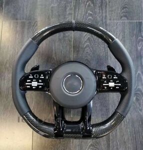 New real carbon fiber custom steering wheel for Mercedes-Benz AMG old to new