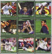 Guinée-bissau 1388-1396 neuf avec gomme originale 2001 Football-WM 2002