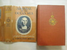 Admiral of the Ocean Sea, Christopher Columbus, Samuel Morison, DJ, 1st, 1942