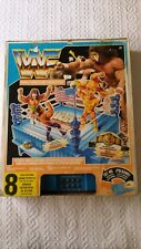 WWF WWE HASBRO OFFICIAL WRESTLING FIGURE RING NEW COMPLETE UNUSED ELECTRIC SOUND