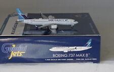 GEMINI JETS GJ1823 Boeing 737-8 MAX Westjet C-FRAX in 1:400 Scale