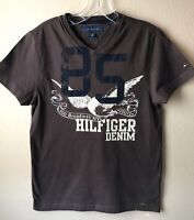 Tommy Hilfiger Women's T-Shirt XS Brown