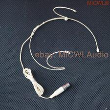 Mc02 Dual Earhook Headset Microphone for Shure Wireless with 4 pin Xlr Ta4F Plug
