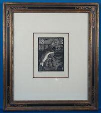 """Edouard Manet """"Le Chat Et Les Fleurs (Cat & Flowers)"""" Aquatint Etching 1899"""