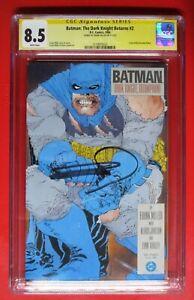 DARK KNIGHT RETURNS #2 BATMAN TRIUMPHANT Frank Miller SIGNED CGC 8.5
