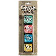 Ranger Tim Holtz Mini Distress Ink Pad Kit 13 TDPK46738
