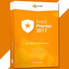 AVAST PREMIER 2017 antivirus, key license 3 pc 3 year FAST SHIPPING Sale