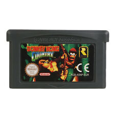 For Nintendo GBA Gameboy Advanced Game Donkey Kong Country Card Gaming Black