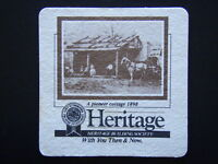 HERITAGE BUILDING SOCIETY WITH YOU THEN & NOW A PIONEER COTTAGE 1898 COASTER