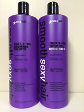 SMOOTH SEXY SHAMPOO AND CONDITIONER 33oz paraben/sulfate free