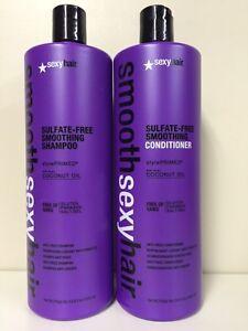 Smooth Sexy Shampoo/Conditioner  33oz paraben/sulfate free unisex