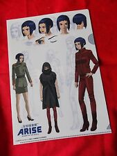 Ghost in the shell ARISE A4 SIZE FILE FOLDER (A) / UK DESPATCH