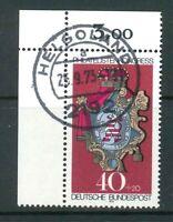 BRD Mi-Nr. 764 Ecke 1 - Vollstempel - zentrisch gestempelt