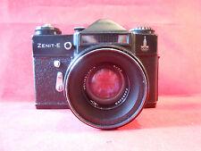 Zenit E Kamera Camera Lens Industar 44-2 2/58 UdSSR CCCP Olimpia 80