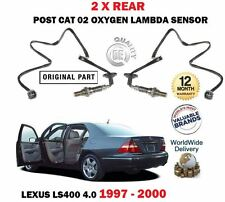 FOR LEXUS LS400 1UZ-FE 1994-2000 2 X REAR LOWER POST CAT 02 OXYGEN LAMBDA SENSOR