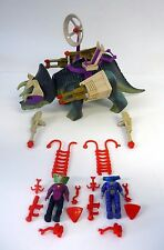 "DINO RIDERS TRICERATOPS PLAYSET Vintage Tyco 4"" Action Figure 1987"