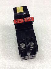 0250 Federal Pacific 1/2 Stab-Lok 2P 50A 240VAC Circuit Breaker 2 YEAR WARRANTY