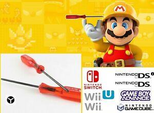 Tournevis Y Console Nintendo Switch Wii U GameCube DS GameBoy Cartouche Jeu GBA