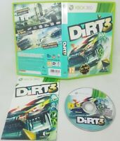 DiRT 3 (Microsoft Xbox 360, 2011) - GOOD - COMPLETE - FAST FREE POST
