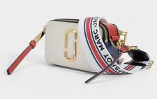 BNWT Marc Jacobs Logo Strap Snapshot Small Camera Coconut Multi Cross Body Bag
