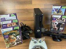 Xbox 360 250gb Slim console with Kinect, Games Bundle and Controller