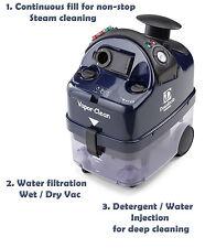 Vapor Clean Desiderio Plus - 318°  Steam & Vacuum & Injection - Continuous Fill