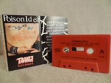 POISON IDEA Kings Of Punk / 1991 / MC CASSETTE ( EX ) DISCHARGE, BLACK FLAG