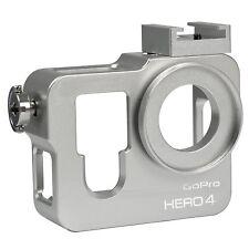 Case alluminio gopro 4 grigio,alluminium ring housing case frame 37mm UV filter