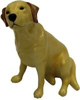 John Beswick Labrador Sitting Dog, Hand-Painted Ceramic Gift Boxed JBD53YEL