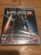 Mass Effect 3 (Sony PlayStation 3, 2012) BRAND NEW FACTORY SEALED