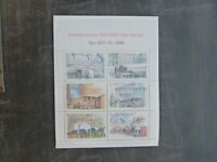1986 FINLAND ARCHITECTURE SET 6 MINT STAMPS MNH