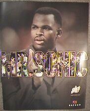 Seattle Sonics Poster - Nate McMillan Mr. Sonic - Vintage - Supersonics NBA