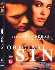 ORIGINAL SIN, Angelina Jolie, Antonio Banderas, DVD