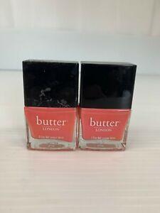 Butter London Nail Lacquer Vernis 11mL/0.4oz Trout Pout 2 Pack