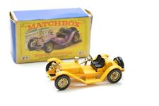 MATCHBOX MODELS OF YESTERYEAR Y7 1913 MERCER RACEABOUT TYPE 35 J