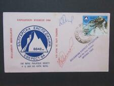 Nepal Bulgarische Mt.Everest Expedition signed by mambers 1984
