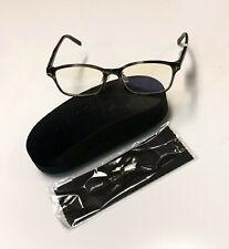 Tom Ford TF 5647-D-B Black 005 Full Rim Silver 'T' Logo Eyeglass / RX Frame