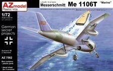 """AZ Model 1/72 Messerschmitt Me-1106T """"Marine"""" # 7562"""