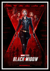 Black Widow - Marvel Alt Movie Poster Print & Unframed Canvas Prints
